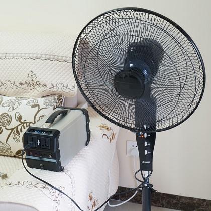 Система охлаждения электростанции активируется автоматически по мере необходимости и работает очень тихо — как правило, ее практически не слышно за фоновым шумом работающих приборов, которые она питает