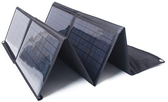 Мощность этой складной солнечной панели составляет 80 Вт