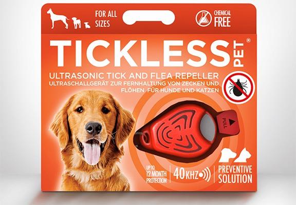 """Отпугиватель клещей """"TickLess Pet"""" в упаковке"""