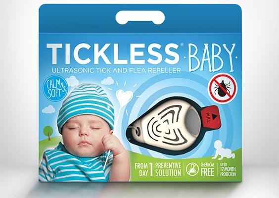 """Отпугиватель клещей """"TickLess Baby"""" в упаковке"""