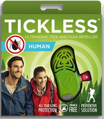 """Отпугиватель клещей """"Tickless Hunter (Human)"""" в упаковке"""