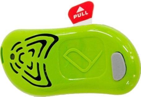 Выдерните защитную пленку и нажмите на единственную кнопку — прибор сразу же заработает