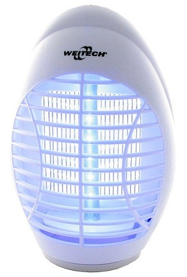В процессе работы прибор светится приятным глазу мягким голубоватым светом (нажмите на фото для увеличения)