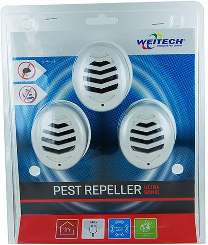Упаковка отпугивателя грызунов Weitech WK3523