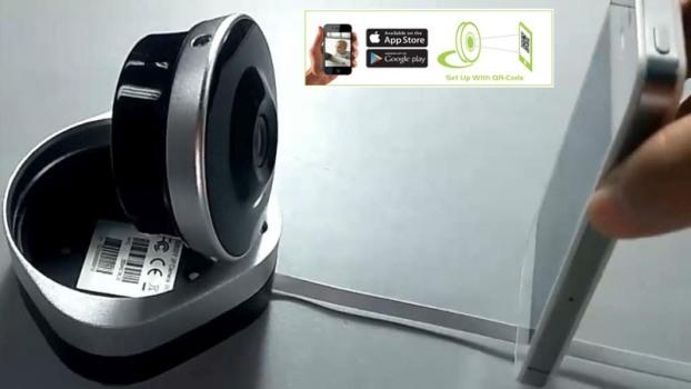 Подключение мобильных устройств осуществляется путем сканирования QR-кода с дисплея телефона