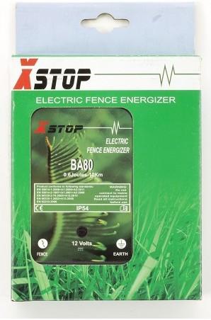 """Основной модуль электронной изгороди """"X-Stop 10B"""" в упаковке"""
