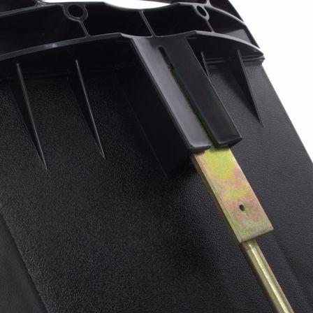 """Одним из вариантов установки основного модуля электроизгороди """"X-Stop Solar 2"""" является использование для этой цели комплектной стойки"""