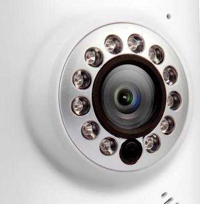 """IP-камера """"Zmodo IXС1D-WAC"""" имеет качественный видеосенсор и ИК-подсветку с автоматическим включением"""