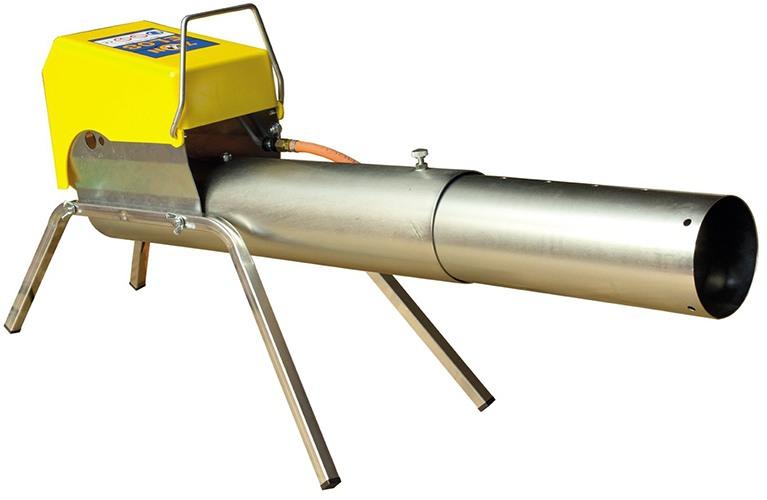 Оснащена стволом телескопической конструкции