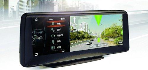 Устройство оснащено GPS-навигатором