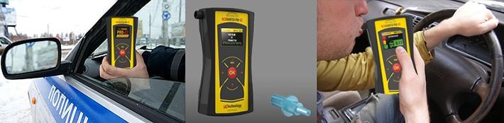 """Анализатор алкоголя """"AlcoHunter Professional X2"""" можно использовать как для персонального, так и  группового тестирования"""