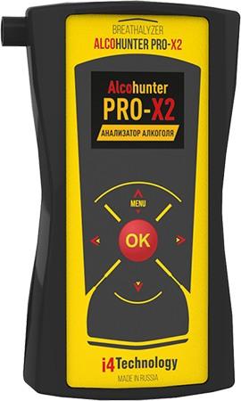 """Профессиональный алкотестер """"AlcoHunter Professional X2"""" обеспечивает быстрые и очень точные измерения"""