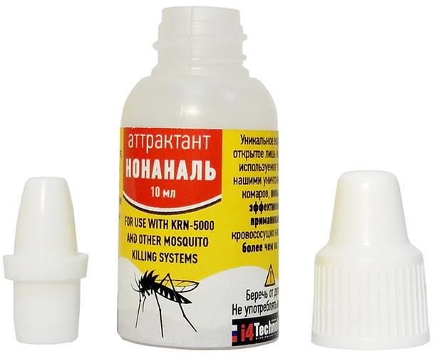 """Аттрактант """"Нонаналь"""" значительно увеличивает количество приманиваемых насекомых и повышает эффективность уничтожителя комаров"""