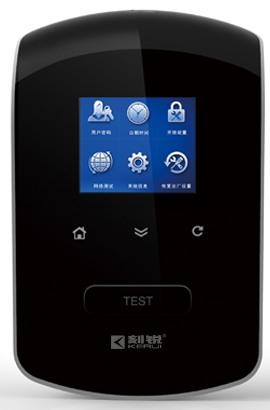Для доступа к функциям датчик имеет информативное меню в виде иконок