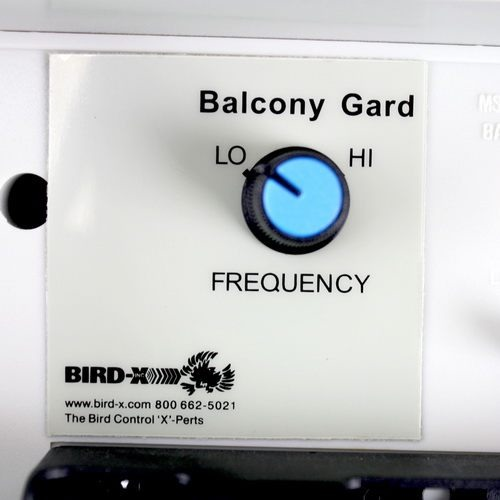 """Мощность излучения отпугивателем птиц """"Balcony Gard"""" можно плавно регулировать"""
