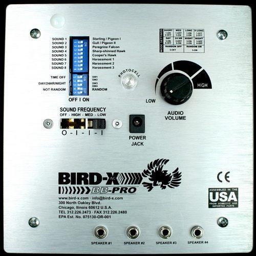 """Встроенный в отпугиватель """"BroadBand PRO"""" пульт управления позволяет произвести гибкую настройку режимов работы"""