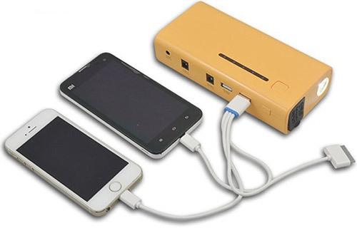 """С помощью зарядного устройства """"E-POWER-37"""" можно одновременно заряжать и запитывать сразу несколько электронных приборов"""