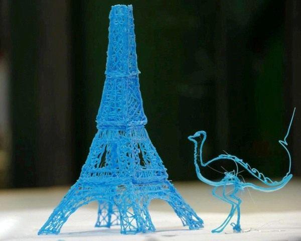 Примеры моделей, изготовленных из пластика PLA