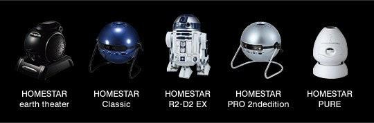 Данный проекционный диск совместим со всеми наиболее популярными домашними планетариями Homestar