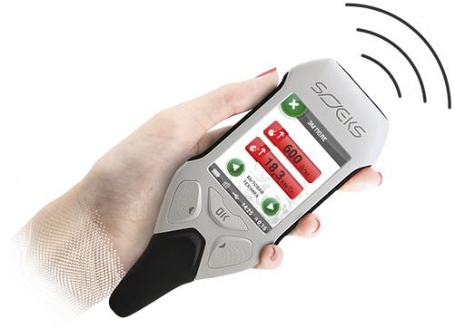 Устройство оповестит вас при превышении порога напряженности электрического или магнитного поля