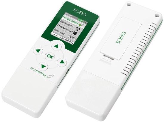 """Экотестер """"СОЭКС"""" — исключительно эргономичный прибор с современным дизайном (нажмите на изображение, чтобы увеличить)"""