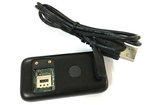 Заряжается от USB-порта