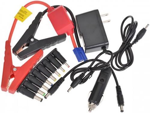 """Пуско-зарядное устройство """"High Power TM15"""" комплектуется восемью переходниками для питания разнообразной электроники"""