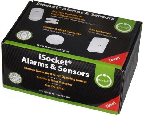 Вот в такой красочной упаковке поставляется набор iSocket Sensors Kit 4