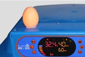 """Светодиодный овоскоп встроен непосредственно в корпус """"incubatOr 36S"""""""