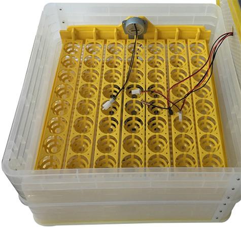 Система активной вентиляции позволяет поддерживать оптимальные условия внутри инкубатора