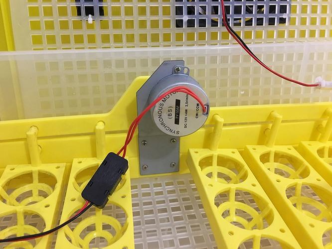 Современные датчики очень точно контролируют показатели температуры и влажности внутри инкубатора (нажмите на фото для увеличения)