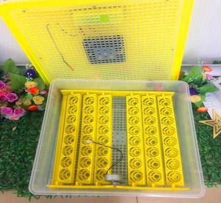 Прибор  рассчитан на 48 куриных яиц