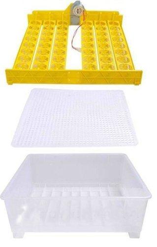 Подставка для яиц устанавливается в корпус поверх специальной решетки