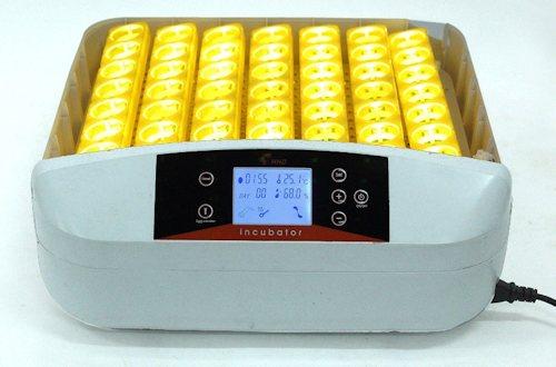 Прибор  рассчитан на 56 куриных яиц