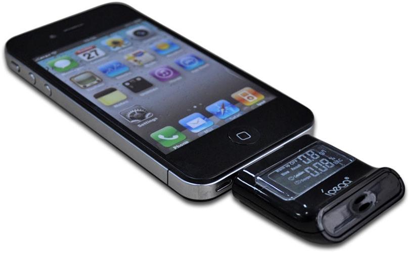 Алкотестер IPEGA представленной модификации разработан специально для совместного использования с гаджетами Apple