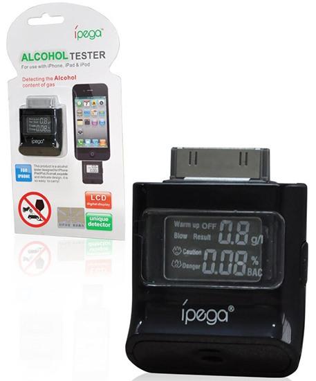 Алкотестер IPEGA для iPhone4/4S/iPad/iPod с упаковкой