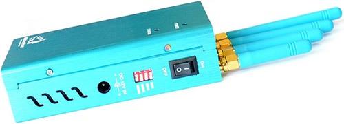 """Подавитель GPS """"Jammer GPS-12G"""" отличается от аналогов возможностью выборочного подавления диапазонов посредством переключателей на боковой панели прибора (увеличение по клику)"""
