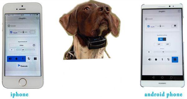 Прибор управляется при помощи смартфонов, работа которых проходит на платформах Android и iOS