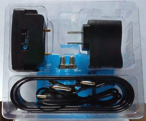 В коробке с электроошейником Вы найдете все, что нужно