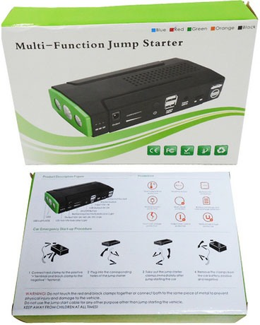 """Упаковочная коробка пускозарядного устройства """"JumpStarter A8"""""""