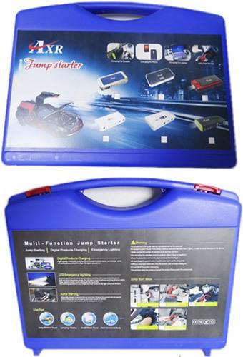 """Пускозарядное устройство """"JumpStarter Solar"""" и все аксессуары к нему поставляются в эргономичном кейсе"""
