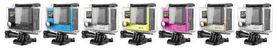 Камера выпускается в нескольких цветовых оформлениях