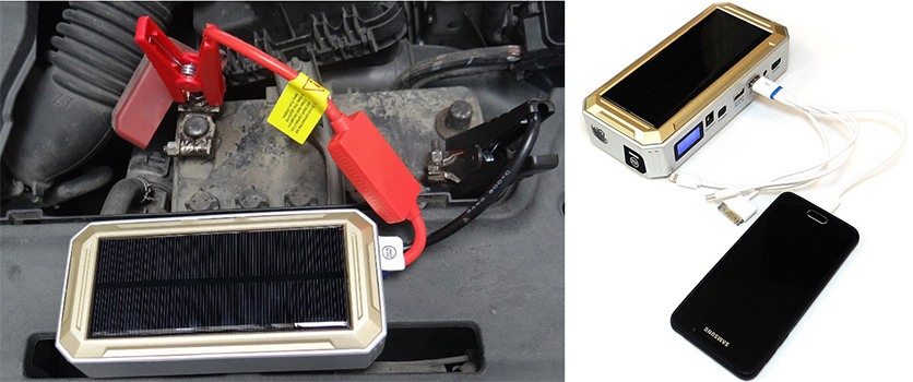 "Пуско-зарядное устройство на солнечных батареях ""SITITEK SolarStarter 18 000 mAh"""