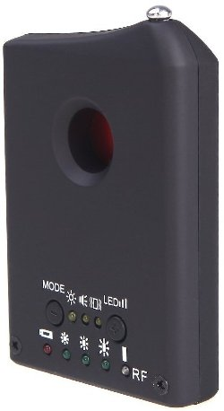 Данный аппарат успешно выполняет функции сразу двух разных приборов для обнаружения шпионских устройств