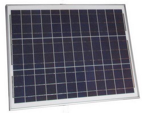 Для зарядки внешнего аккумулятора отпугивателя используется солнечная панель мощностью 40 Вт