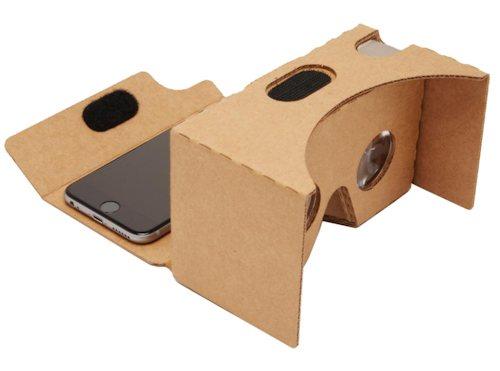 Очки выполнены из перфорированного картона