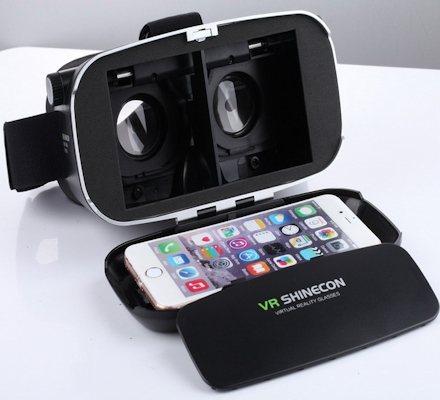 Со снятой панелью, открывающей обзор видеокамере смартфона