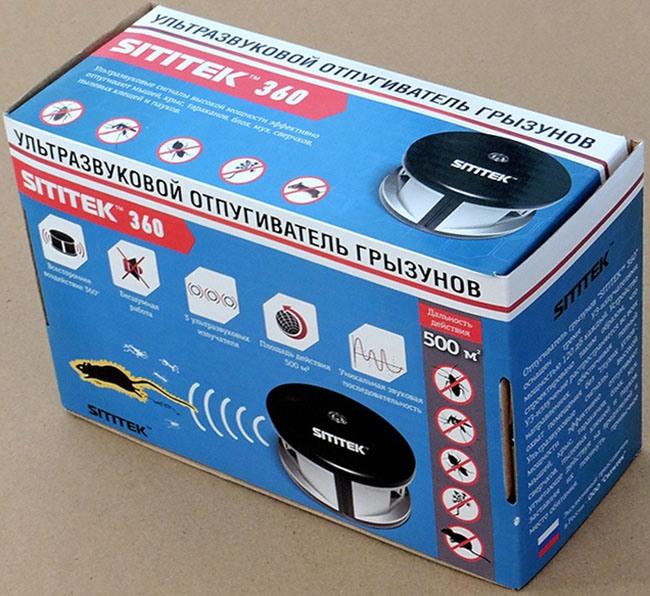 ультразвуковой отпугиватель мышей и крыс sititek 360 купить