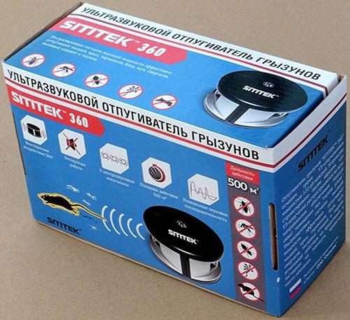 ультразвукового отпугивателя мышей и крыс sititek 360