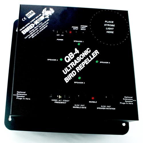 """Эффективность отпугивателя """"QuadBlaster QB-4"""" обеспечивается гибкой регулировкой режимов работы (кликните для увеличения)"""